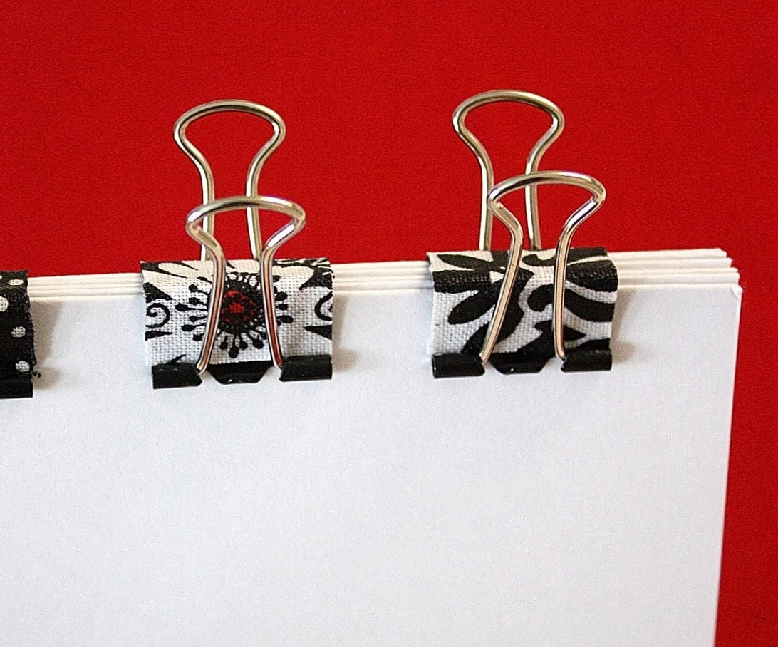 Mod podge clips