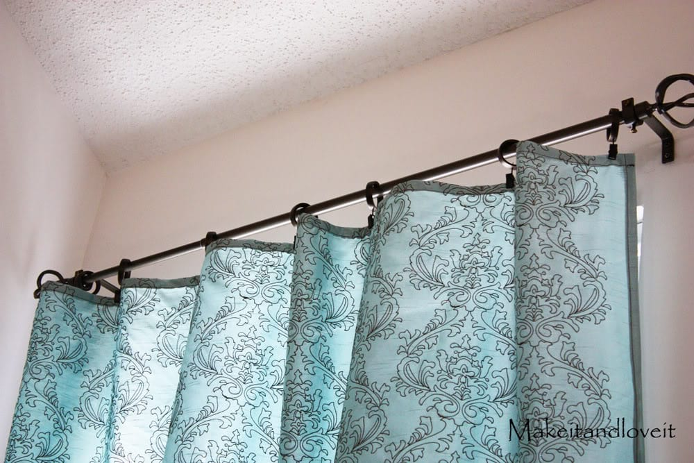 Decorate My Home Part 1 Simple Curtains Make It And