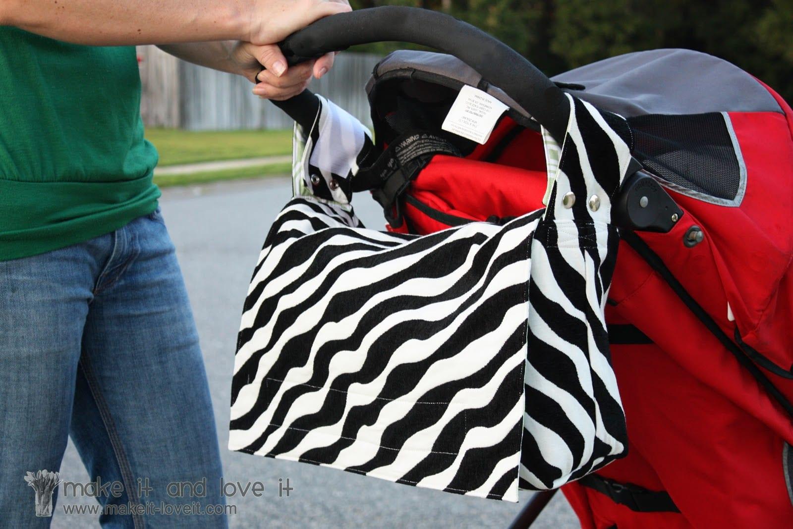 2 In 1 Bag Stroller Bag Into A Messenger Bag Make It
