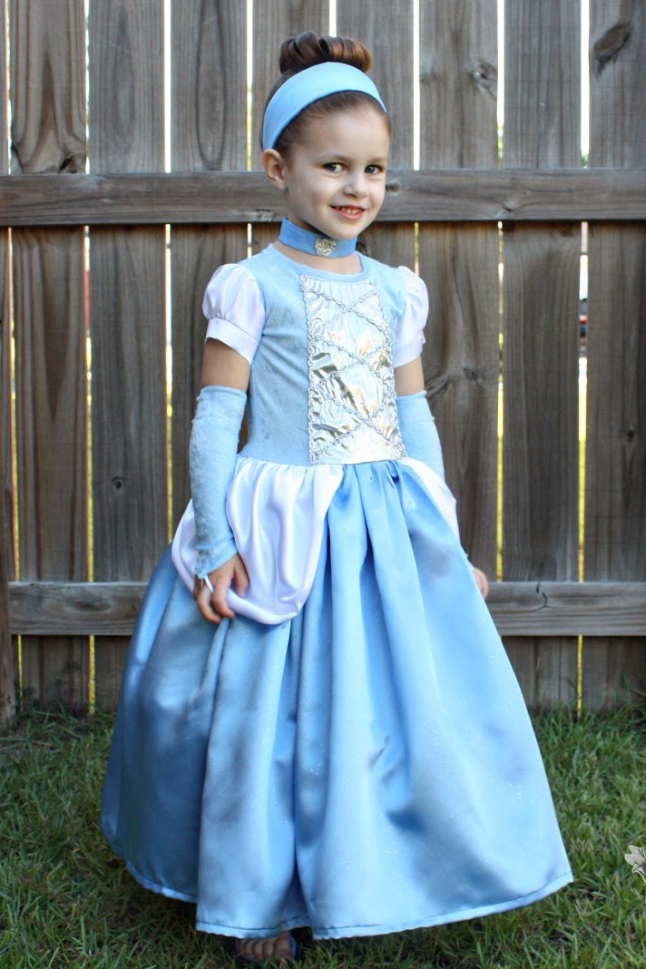 Cinderella dress – halloween costume