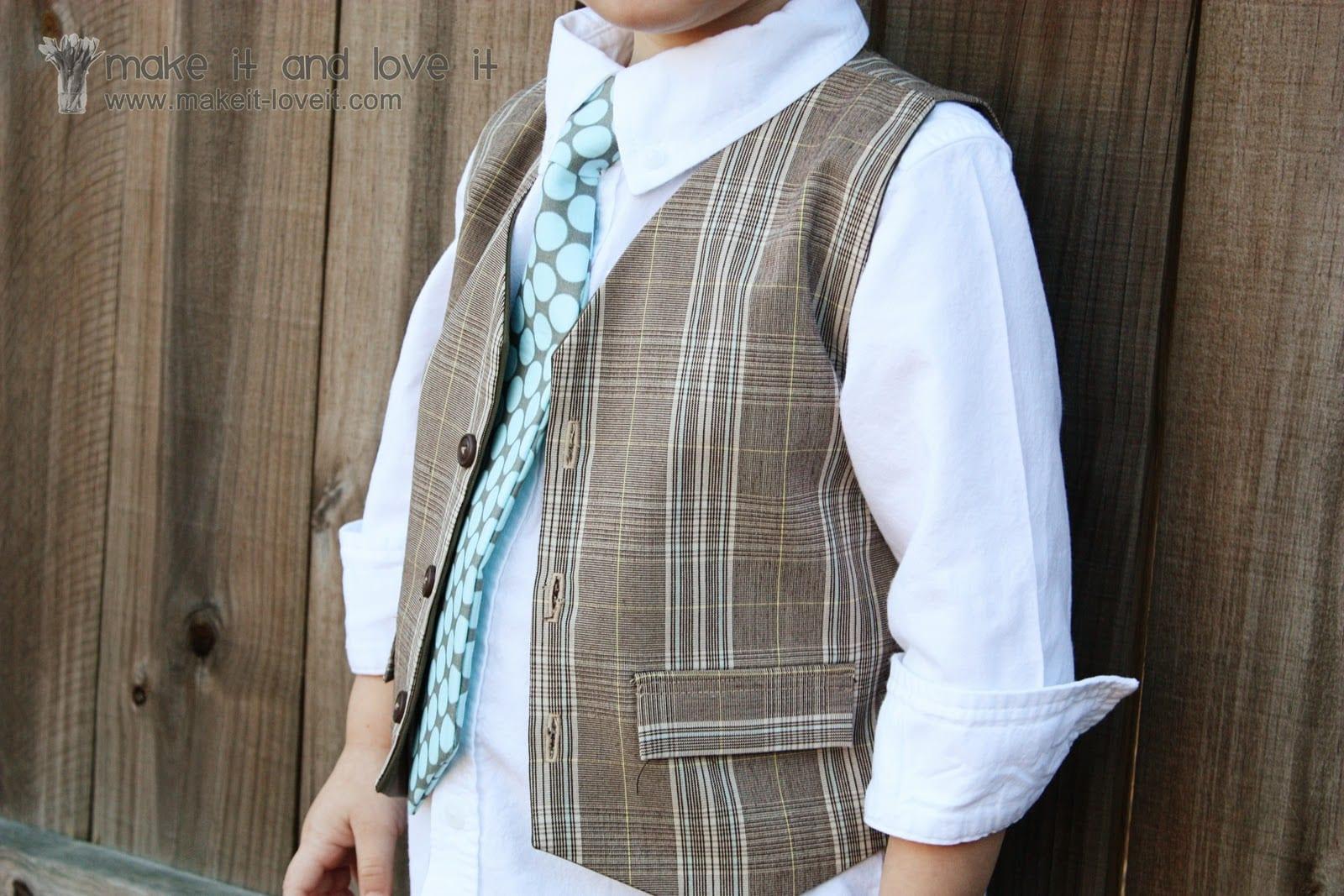 Boys Vest Pattern Magnificent Inspiration