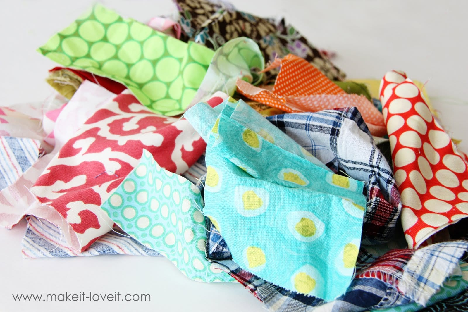 Fabric Scraps Trash Or Treasure