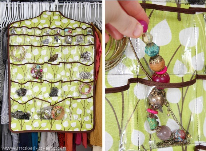Hanging Jewelry Holder Space Saver Make It and Love It
