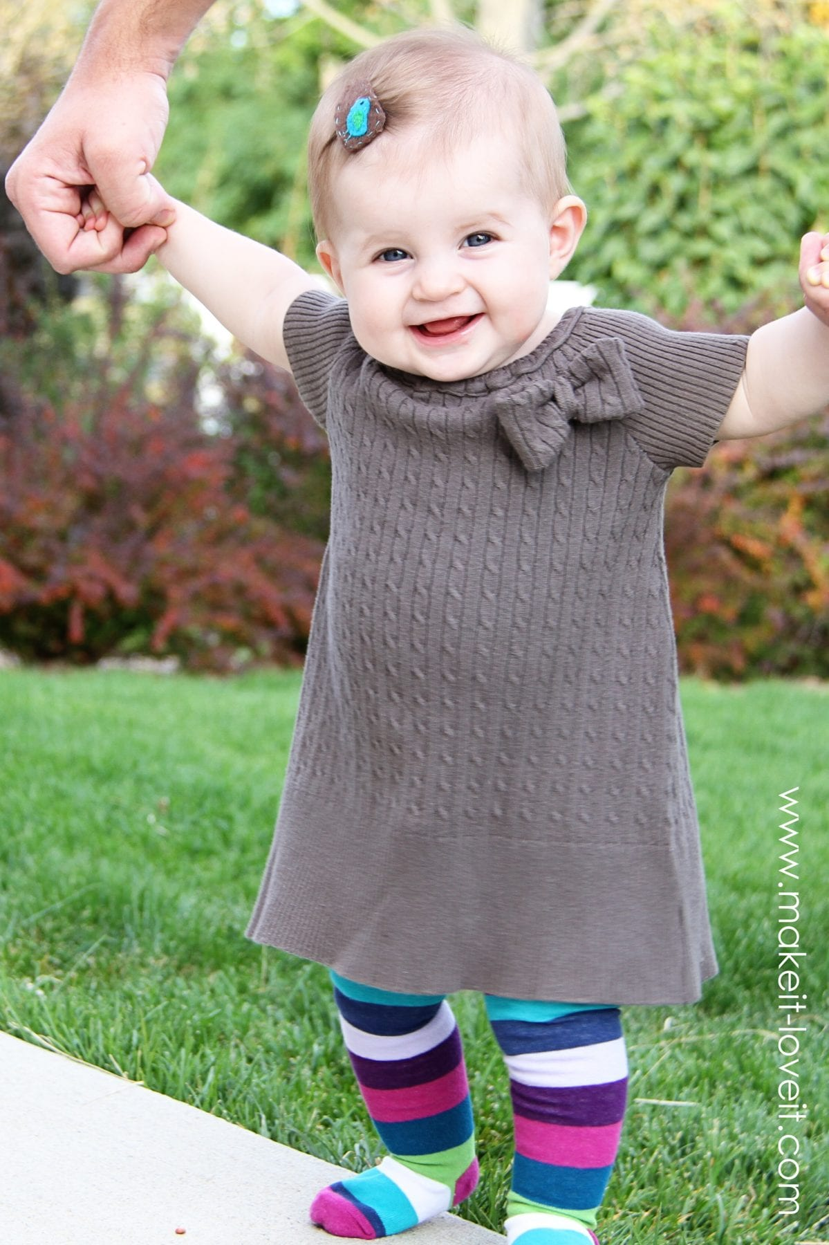 Old Sweater into Short Sleeve Dress (peasant style) | Make ...