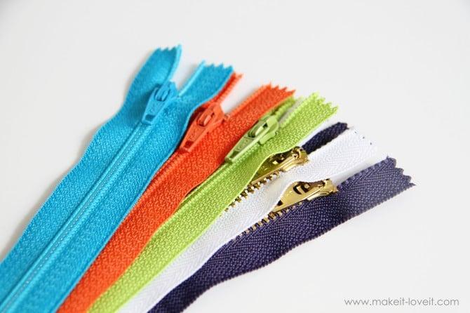 cheery little zippers