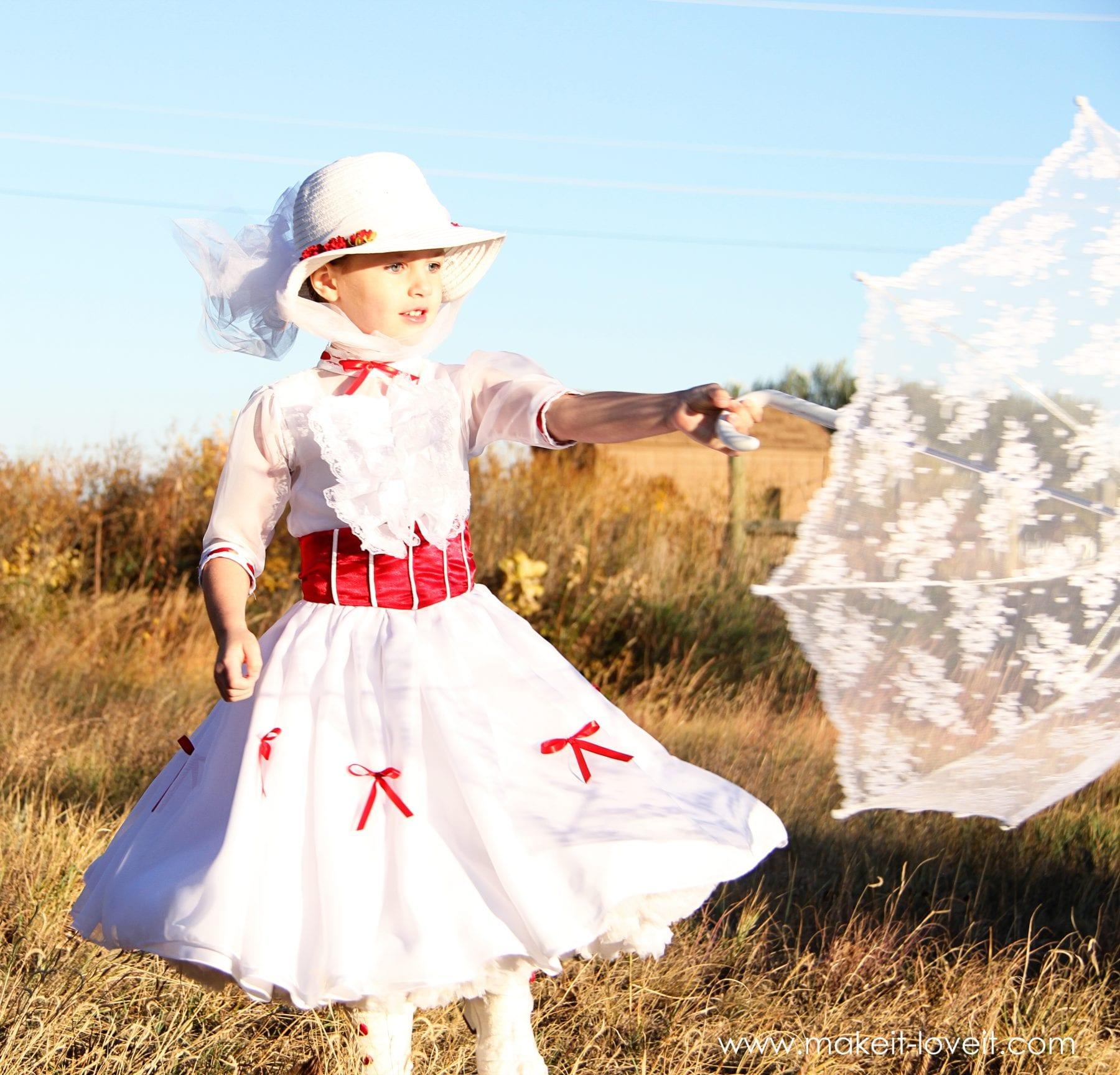 Mary Poppins Dress For Little Girl