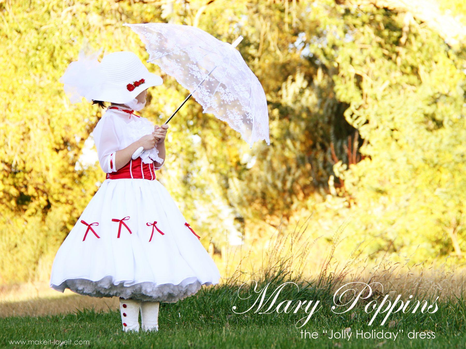 Mary Poppins Costume - DIY Halloween Costume