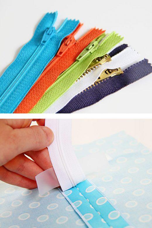Sewing tips: installing a basic zipper