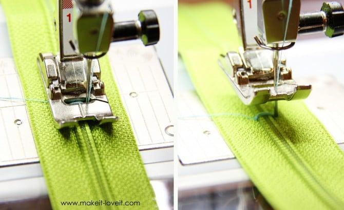 8 inch zipper