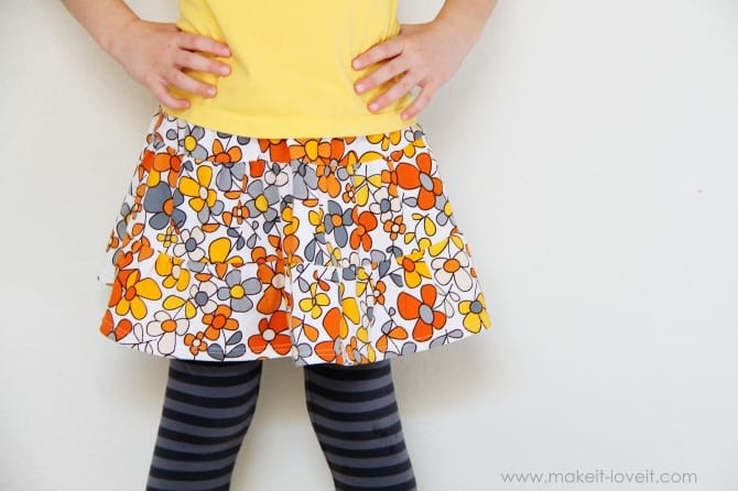 Basic 3 Tiered Skirt: With Hidden or Exposed Seams (measurement chart included) | Make It and Love It