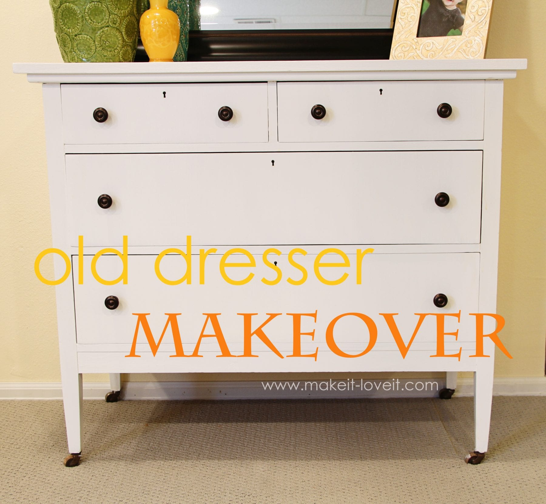 Home Decor Painting An Old Dresser From The Thrift Store Make