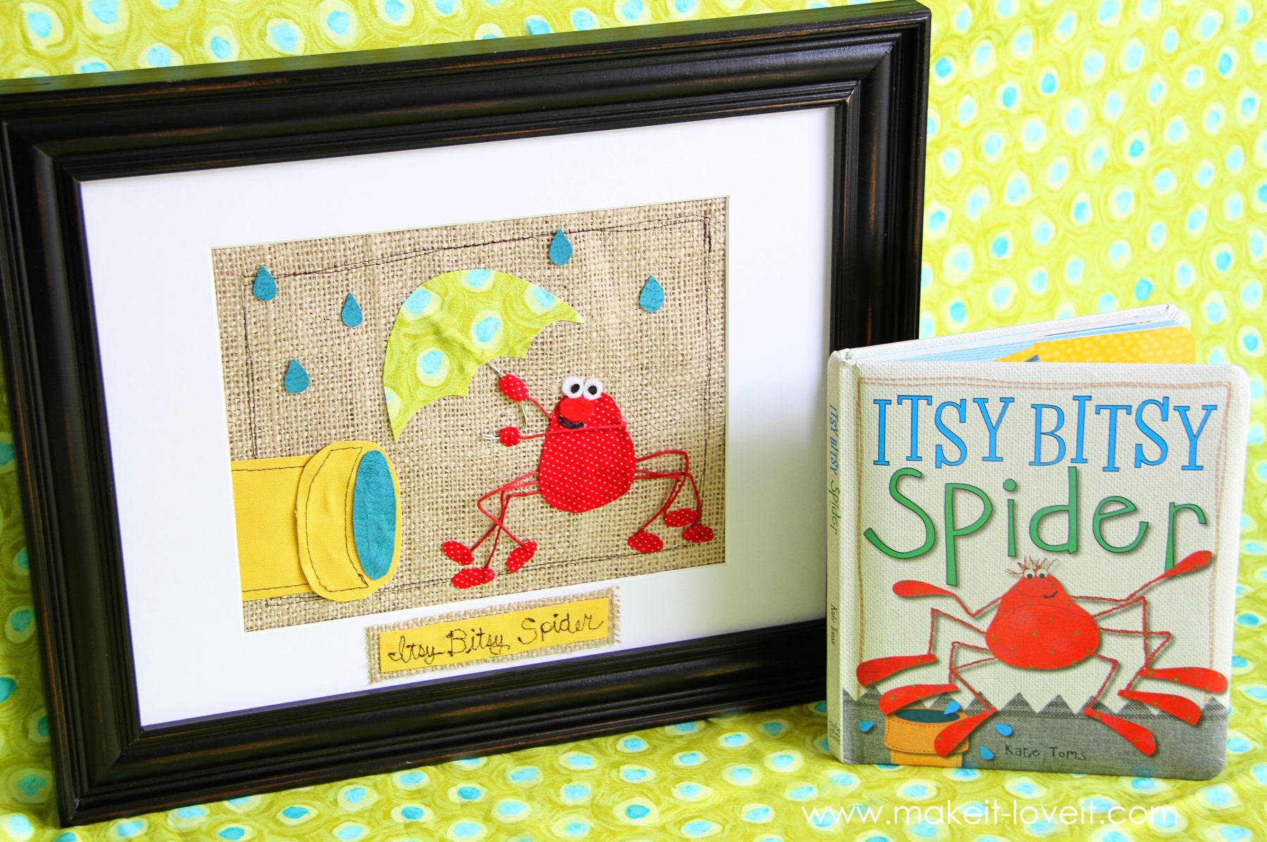 Frame a Scene from a Children's Book: Guest Posting over on 'No Big Dill' today