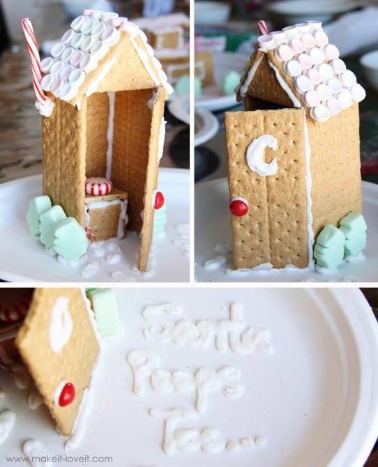 santa outhouse