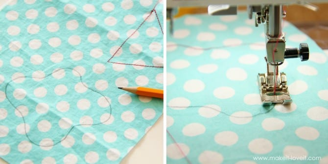 sewing shapes