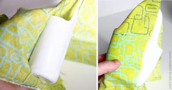 wrap bottle