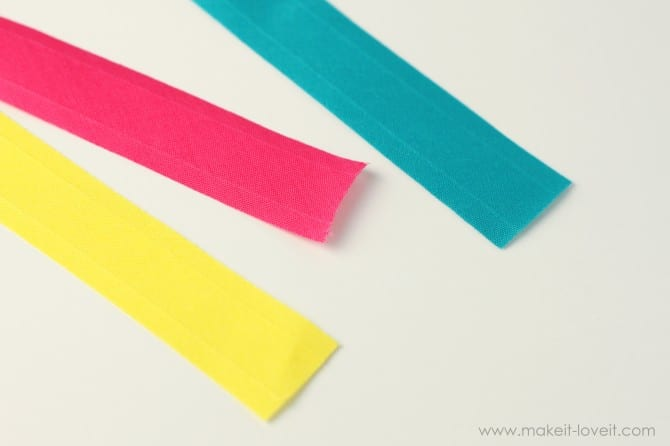 how to make bias binding piping and dori