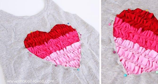 pinning heart