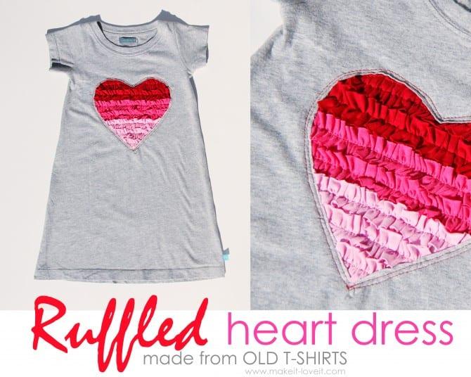 ruffled heart dress1