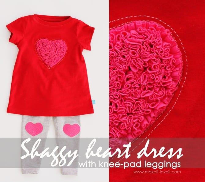 shaggy heart dress3