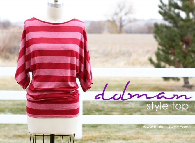 Make A Simple Top Dolman Style With Banded Bottom Make It And Love It