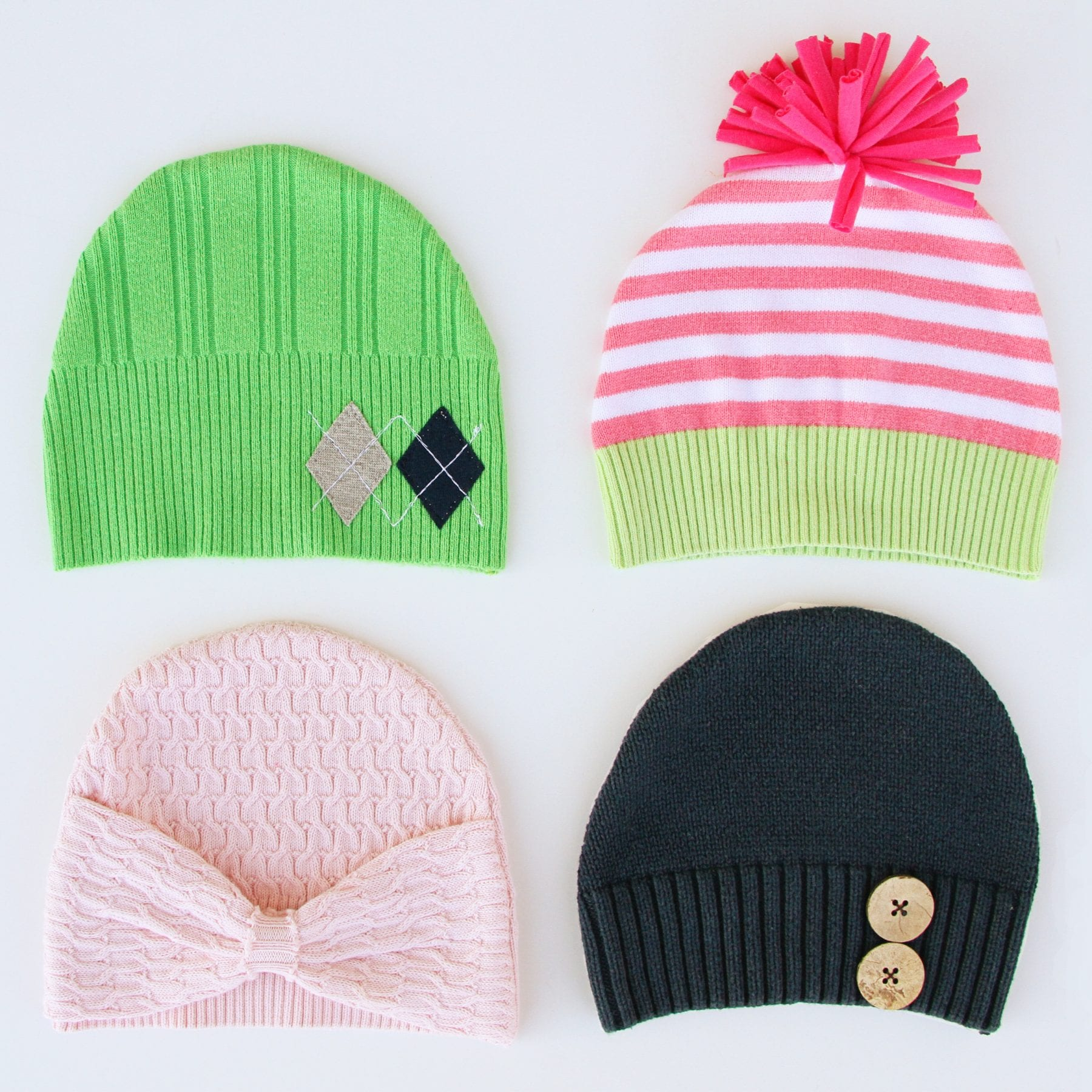 hats from sweaters 1