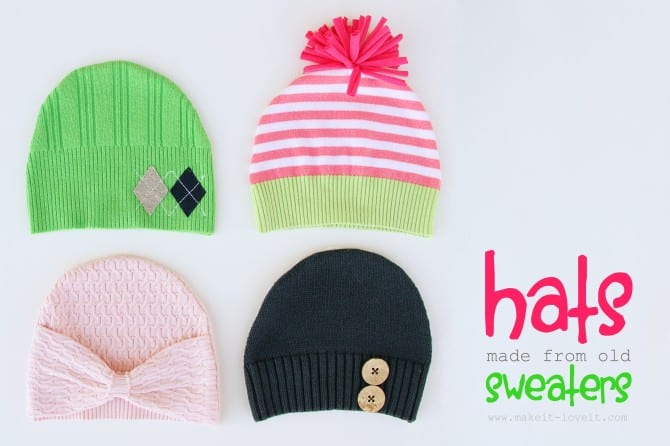 hats from sweaters1