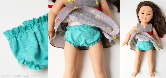 panties for doll
