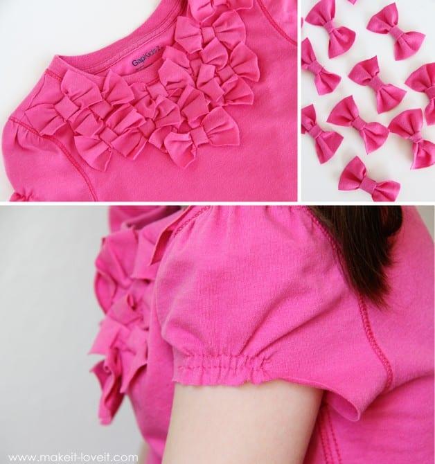 parts of bow shirt