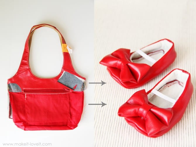 red purse to shoes