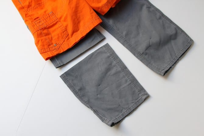 Turning long pants into shorts (and making it look good)