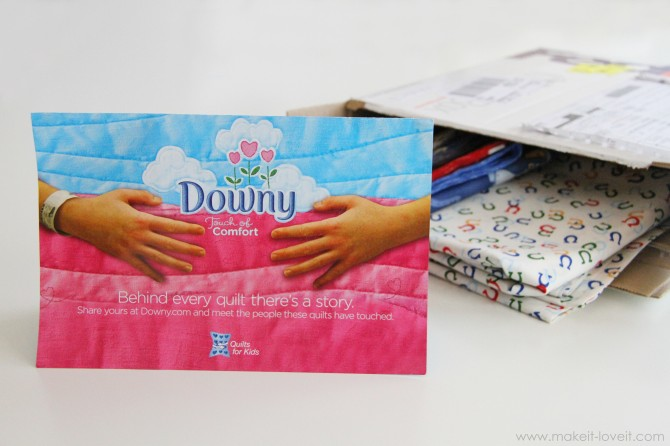 Downy touch of comfort – quilts for kids (& making a four-patch quilt)