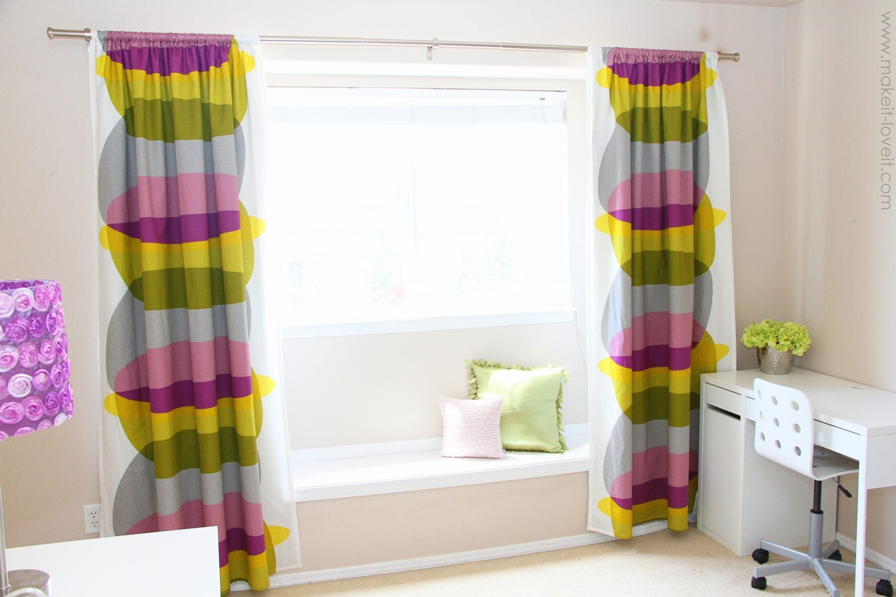 Blackout Curtain Diy How To Add Blackout Liner To Your Existing Curtains
