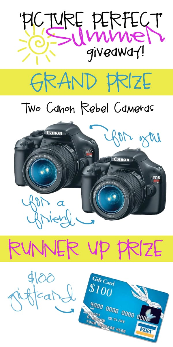 Real quick…..the giveaway winners!