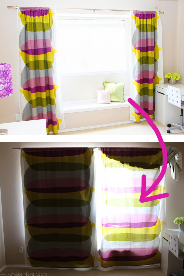 Blackout Curtain Diy How To Add Liner Your Existing