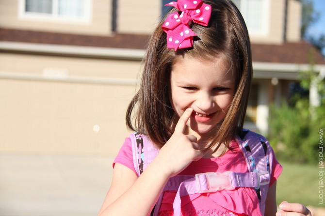 Elli started kindergarten…….what a day!