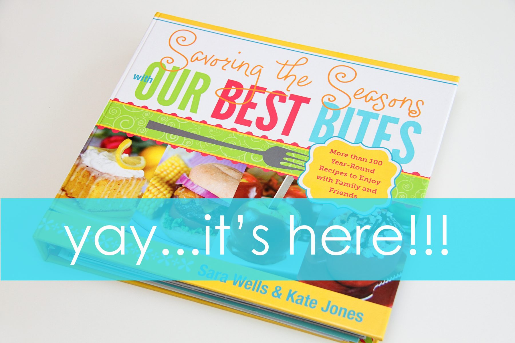 2 new 'our best bites' cookbooks to give away! {closed}