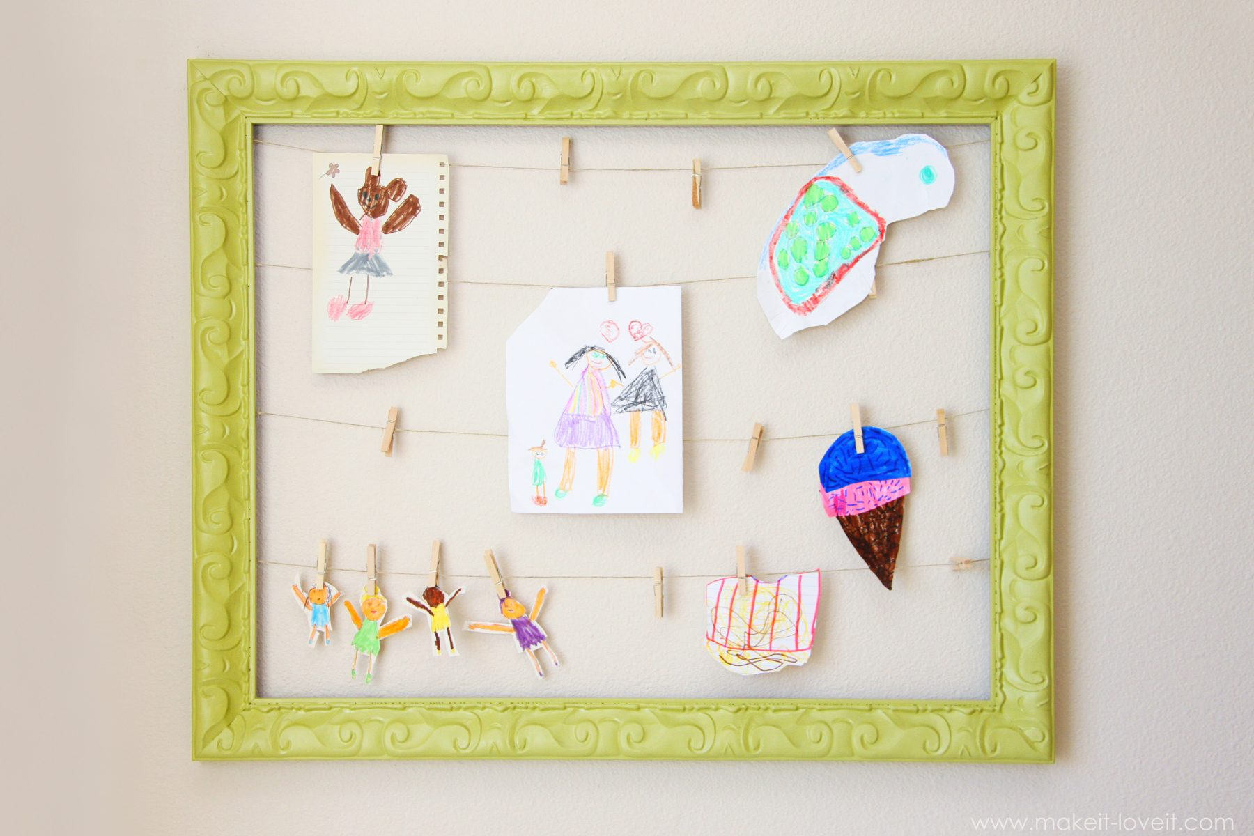 Artwork Display Frame | Make It and Love It