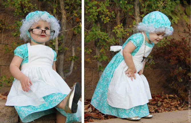 Halloween costumes 2012: the granny (from 'little red riding hood')