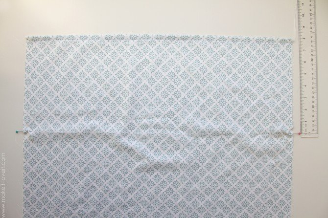 Envelope closure pillowcase (for bed pillows)