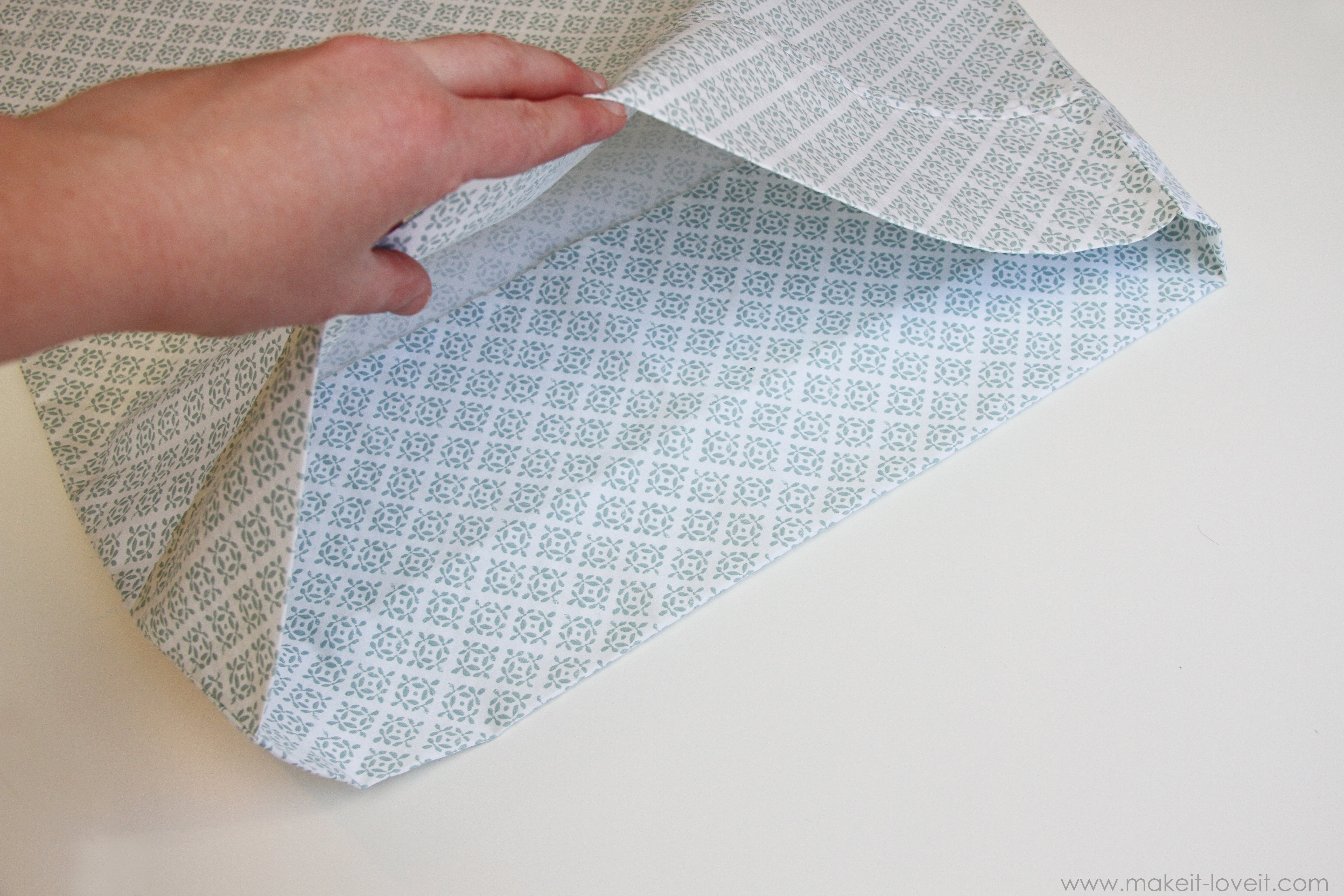 envelope closure pillowcase for bed pillows make it and love it