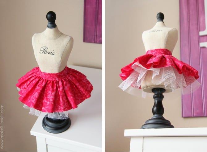 Как сшить короткое платье кукле 360