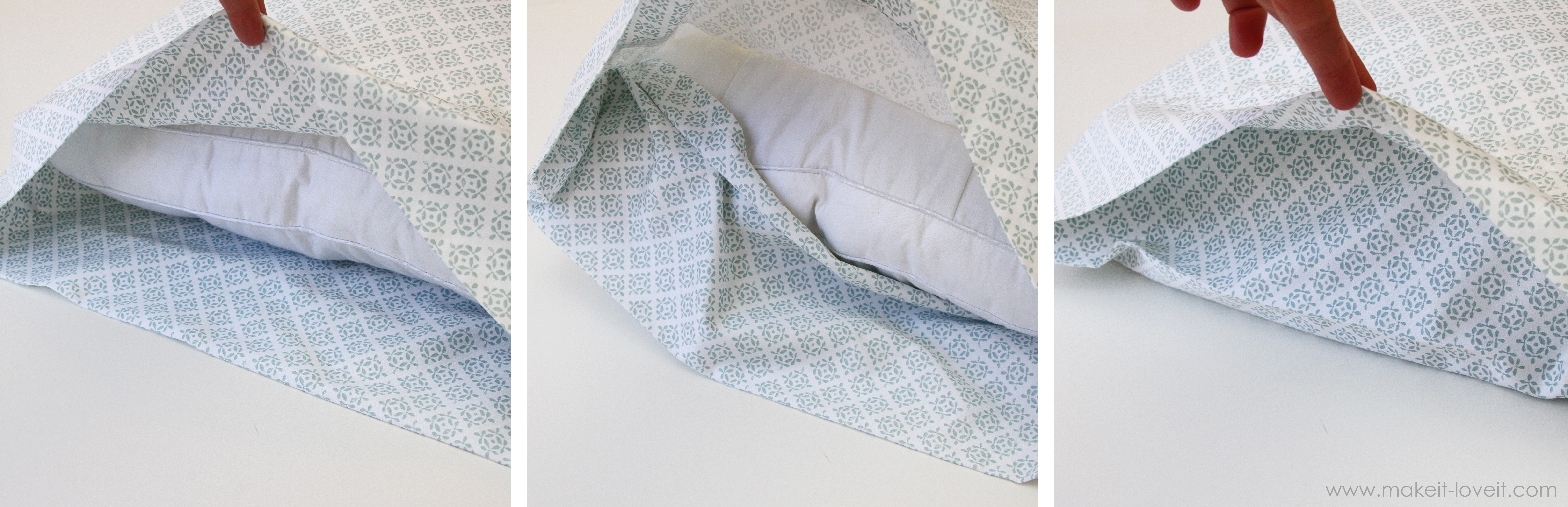 Envelope Closure Pillowcase For Bed Pillows Make It