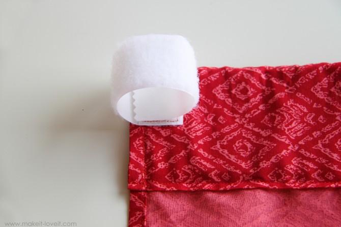 Baby crib skirt (a very basic one)