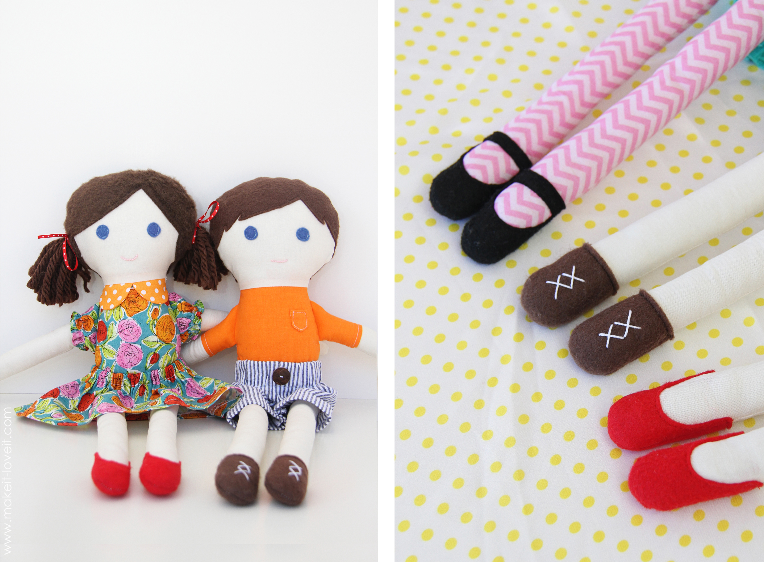 Make a soft doll with your own hands. The process is simple and extremely interesting