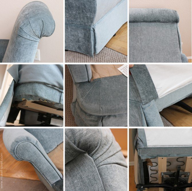 Re Upholstering 101 How I Re Upholstered My Swivel