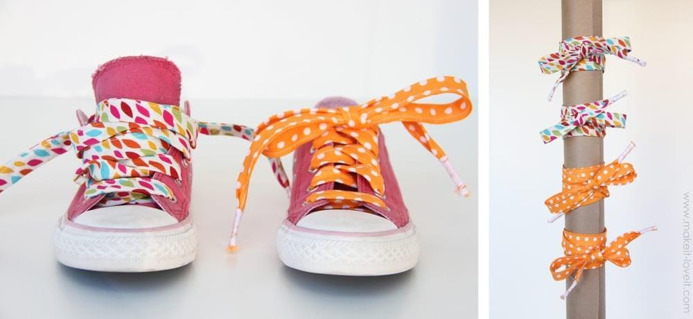 fabric shoelaces
