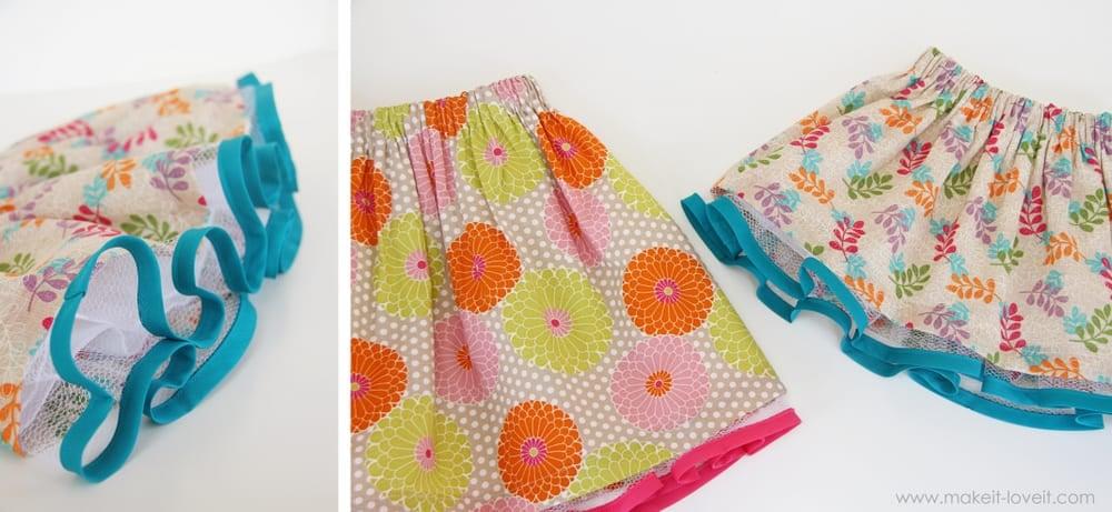 full skirt with tulle