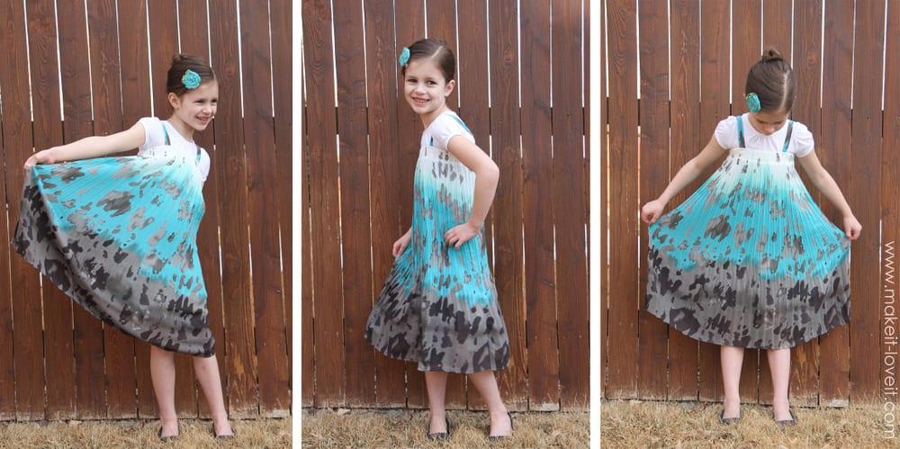 skirt into dress