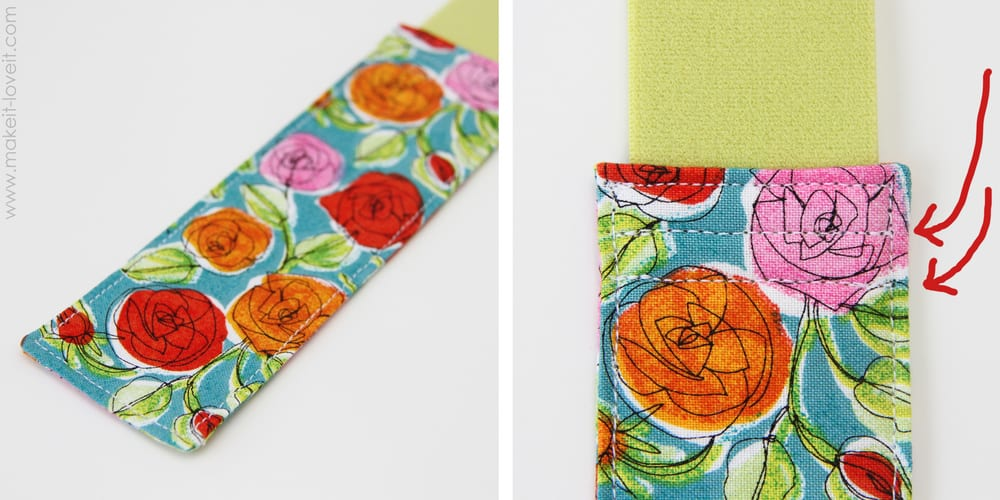 sew bookmark