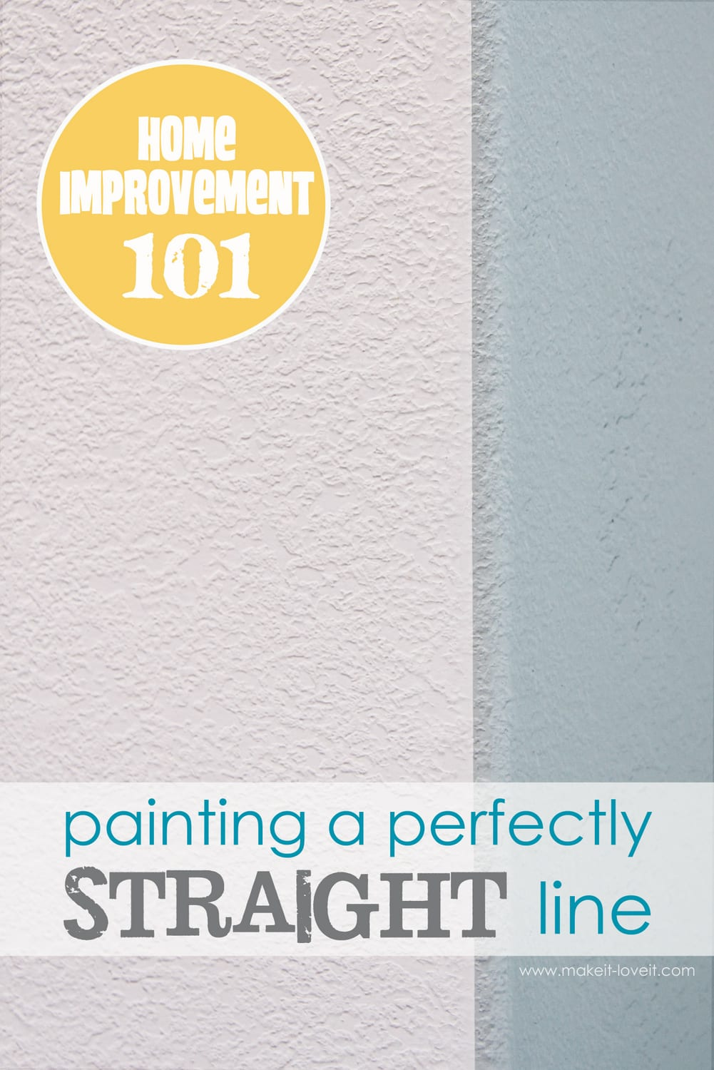 Artrage Straight Line : How to paint perfectly straight lines on textured walls